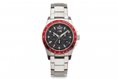 BMW M watch chronograph metal strap