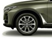 Wheel with winter tyre Bridgestone Blizzak LM-001 RFT  255/55R20 110H XL