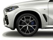 Wheel front with winter tyre Pirelli Scorpion Ice Zero Run Flat studded 275/40R21 107H