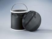 Watertight folding pail